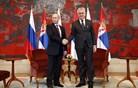 Srbski predsednik: Dragi brat Vladimir, srbski narod je ponosen, da ti nosiš najvišji srbski red