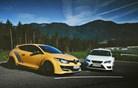 Renault megane R.S. trophy 275 akrapovič in seat leon cupra – elitni dvoboj na slovenskem asfaltu