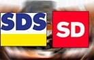 Poraženka je SDS, zmagovalka je SD