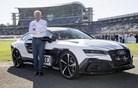 Kako je audi RS 7 brez voznika odpeljal hitri krog v Hockenheimu (video)