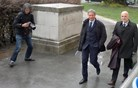 Marko Jaklič končno na sodišču, zagovarjal se bo pozneje