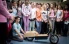 Osnovnošolci naredili prvo hibridno kolo v Sloveniji