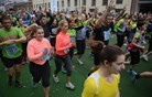 Med maratonom parkirišče in avtobus za tekače zastonj