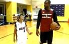 Zvezdnik Miami Heat igral z 90-letno babico