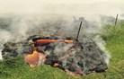 Lava iz ognjenika na Havajih že dosegla prvo hišo (foto in video)