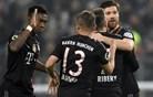 Bayern zlahka napredoval, Juventus in Man City sta se spotaknila