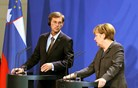Angela Merkel: Slovenska vlada začela ambiciozen projekt, mi jo podpiramo