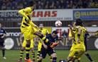 Nov spodrsljaj Borussie Dortmund, Augsburg zmagal brez Tima Matavža