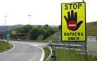Na gorenjski avtocesti spet vožnja v napačno smer