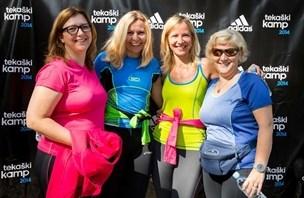 Tekaški navdušenci v Ljubljani vpijali tekaško znanje