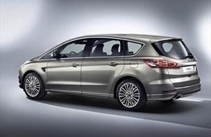 Novi ford S-max: več udobja in elektronske podpore, prvič tudi 4x4 ...