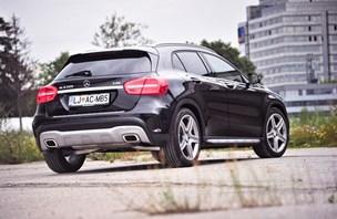 Mercedes-benz GLA 220 CDI: urbani avanturist modre krvi