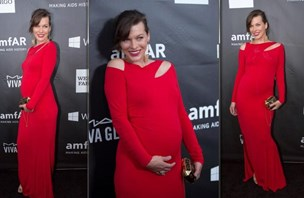 Očarljiva Milla Jovovich bo imela še eno hčer