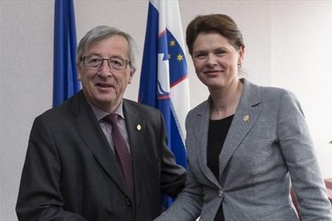 Juncker je na pogovor povabil le Bratuškovo