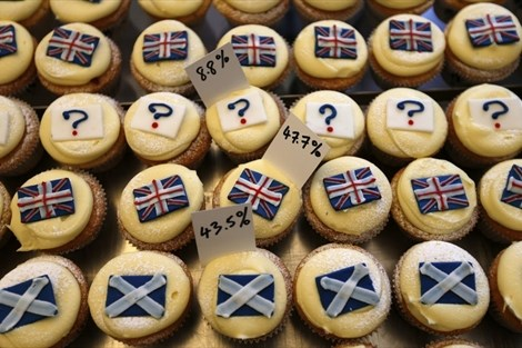 Volivci množično na referendum o škotski neodvisnosti (video)