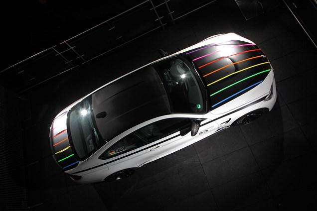 Replika zmagovalca serije DTM, ekskluzivni BMW M4 brez Akrapoviča