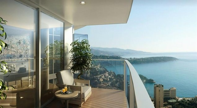Foto: Luksuzno stanovanje z bazenom s pogledom na morje | Dom ...