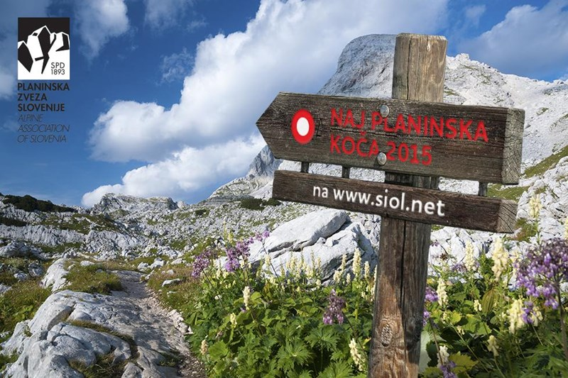 Glasovanje naj planinska koča 2015