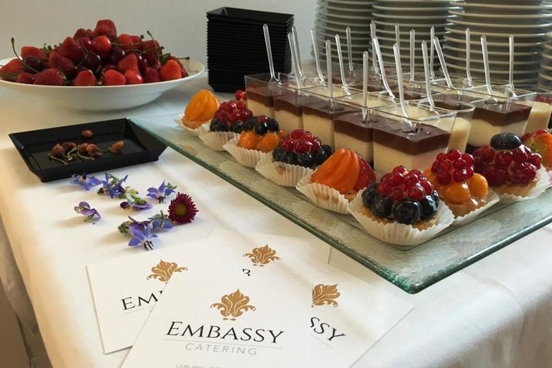 Veliko diplomatskih predstavništev na Dunaju zaupa ekipi Embassy Catering.
