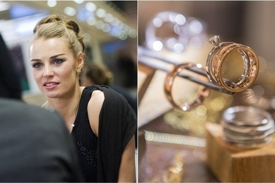 Tina Maze slovenskim zlatarjem  pomaga do milijonov