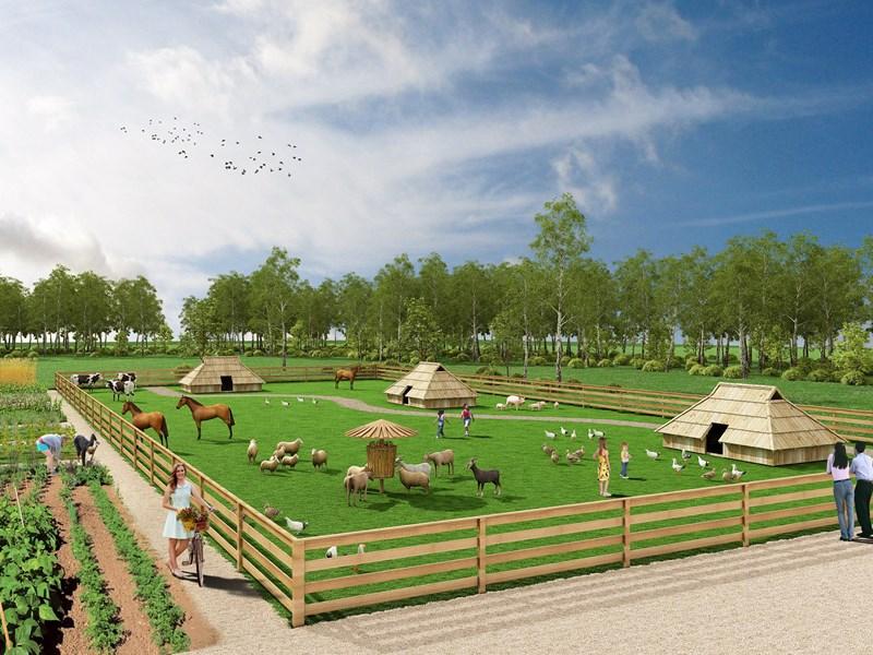 Naloge bodo vključevale skrb za živali in vrt ter vodenje delavnic.